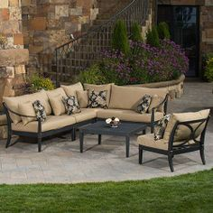 Modern Outdoor Furniture, Patio Sets & Luxury Home Accessories