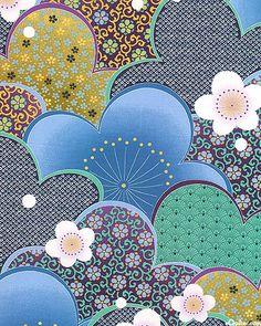 Love, love, love Asian fabrics!