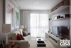 Apê de 60 m² com ideias na medida do conforto