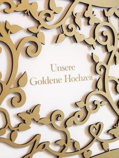Wedding album with delicate laser cut Cover, Coppenrath Verlag