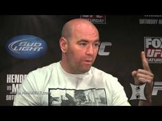 Dana White  talks about Menieres Disease treatment   Orthokine at Scrum UFC on FOX 7