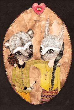 friendship Tarot, Friendship, Illustrations, World, Love, Cards, Illustration, Character Illustration, Tarot Decks