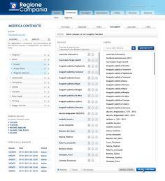 Contenuti - Modifica - Documenti - Link