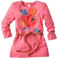 Tuniek/jurkje met print op de voorzijde van Cakewalk   Olliewood
