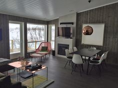 Prosjekter – Fortunen Conference Room, Interior Design, Table, Furniture, Home Decor, Nest Design, Decoration Home, Home Interior Design, Room Decor