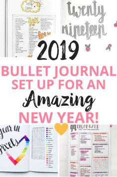Are you ready for Find out just how to plan out your 2019 bullet journal set up for your BEST year yet! Find different bullet journal pages for each of your resolutions that will help you visualize your goals and stay focused in Bullet Journal Agenda, Bullet Journal Printables, Bullet Journal How To Start A, Bullet Journal Spread, Bullet Journal Layout, Bullet Journal Inspiration, Bullet Journals, Bullet Journal Project Planning, Filofax