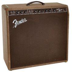 1960 Fender Bandmaster Brown Guitar Amplifier Serial Lot 85148