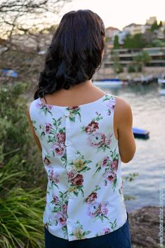 The Bears Four: Free Boat Neck Top Pattern + Tutorial