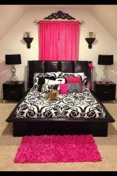 10 best pink black bedrooms ideas