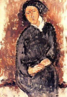 Seated Woman, 1919, Amedeo Modigliani