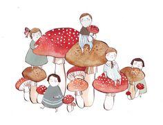 Mushroom afternoon