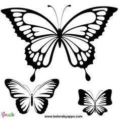 You can use these free printers to make a paper butterfly, a butterfly wall, or as a simple butterfly character. Butterfly Outline, Butterfly Stencil, Simple Butterfly, Butterfly Images, Butterfly Tattoo Designs, Butterfly Template, Butterfly Crafts, Flower Template, Blue Butterfly