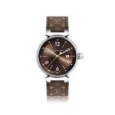 Tambour Brun Large - Uhren   LOUIS VUITTON
