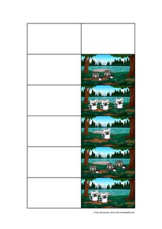 Tiles for the matrix counting game. Find the belonging board on Autismespektrum on Pinterest. By Autismespektrum.