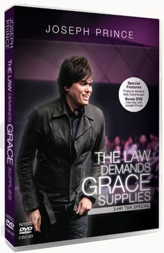 Joseph Prince Ministries Online Store - The Law Demands, Grace Supplies (DVD Album—NTSC) Can order online
