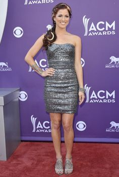 Cassadee Pope at the ACM Awards