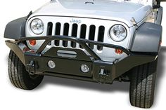 Jeep Wrangler Rampage Recovery Bumpers