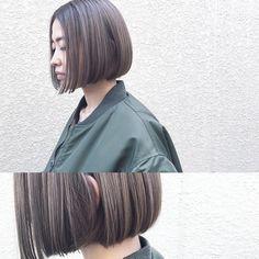 いいね!88件、コメント1件 ― 篠崎 佑介さん(@ysk_0212)のInstagramアカウント: 「顎ラインのシンプルなボブに、ダブルカラーで明るすぎず暗すぎずなアッシュベージュを。明るく派手な色ばかりがダブルカラーではありませんので、興味のある方はぜひ♂️#hair #hairstyle…」