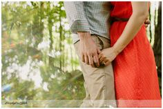 Outdoors forest #engagement photography - Ashley + Ed: Northeast Pennsylvania Engagement Session.