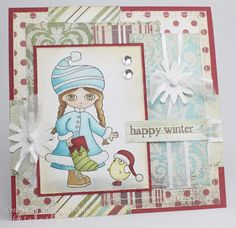 La-La Land Crafts Inspiration and Tutorial Blog: Search results for christmas rosie with bird