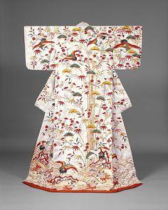 Uchikake, 1750-1850, Edo Period MET Museum