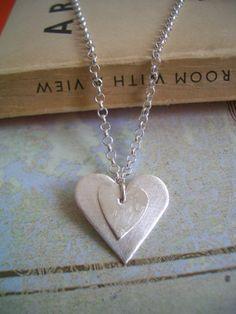 Heart Necklace by Helen Woodward Design
