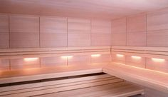 Industrial style wall light / sauna / linear ALBAZZA Freixanet Saunasport