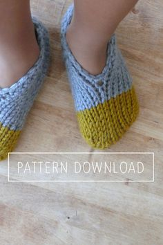 It's a great pattern! I've made two pairs already! Looks like the family is getting slippers for Christmas. :)  I honestly can't say what first