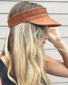 Leather Visor by RightTribe