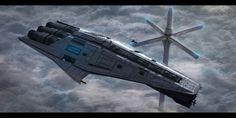 Star Wars Mandalorian Cruiser by AdamKop on DeviantArt