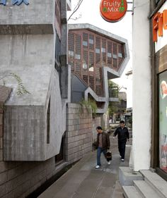 Photography: Wang Shu Projects, by Clement Guillaume Photography: Wang Shu Projects (8) – ArchDaily