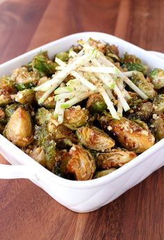 Fried Whiskey Glazed Brussels Sprouts are what my kind of side dish at Thanksgiving is all about! Sort of healthy...but NOT!