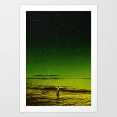 Lost Surfer Star Series by Stoian Hitrov - Sto #society6 #surf #artprint #sea #abstract