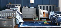 Boy Star Shared Spaces Bedroom