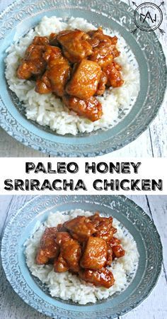 Paleo Honey Sriracha Chicken - an easy, healthy, gluten-free dinner that makes perfect leftovers for lunch!