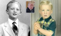 Even as a child Donald Trump was a horror I saw something similar on PBS before the election
