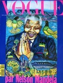 Vogue Paris December/January 1994 - Nelson Mandela