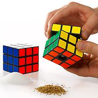 Rubik's Cube Salt and Pepper Mills  :: This website gives you ideas for interesting gifts for different types of people.