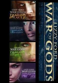 """War of Gods Box Set"" - now available. Features all 4 books in the paranormal romance series."