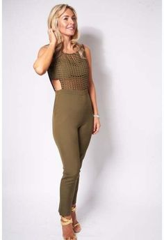 💚 Grab this gorgeous jumpsuit at Have To Love. 💚 #kharki #havetolove #fashion #jumpsuit  http://havetolove.com