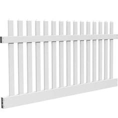 white plastic garden fence panels - Google Search