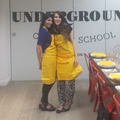 BLOGGER OUTREACH - Georgina Does: LIFESTYLE: Underground Cookery School With Old El Paso