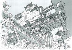 Feng Zhu Design: Week 14 Student Work: Term 01 - Perspective