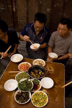 "Chengdu ""fly"" restaurant of of Zhang Linchen in Chengdu, China."