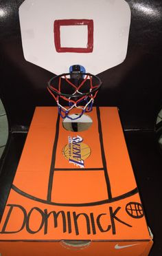 Lakers Valentine's Day box for Dominick