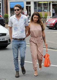 Vanessa White and her boyfriend Gary Salter enjoy ride