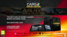 Project Cars Limited Edition and Pre-Order Bonus Details