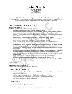 Real Estate Agent Resume Best 20 Professional Resume Templates Create Your Resume In 5 Min .