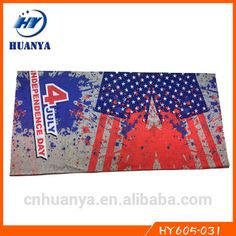 Latest design seamless magic multifunctionalthe Stars and the Stripes country printed flag bandanas