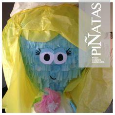 Piñata Pitufina https://www.facebook.com/ppinatas